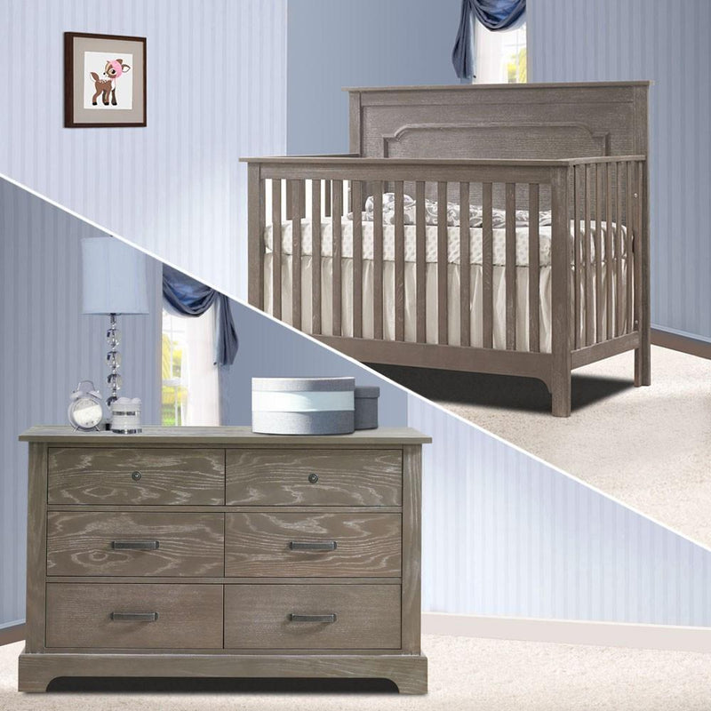 Nest 2 Piece Nursery Set Owl Nest Emerson Collection 2 Piece Nursery Set Crib and Double Dresser New York New Jersey Staten Island