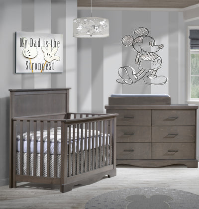 Nest Matisse Collection 2 Piece Nursery Set Crib and Double Dresser