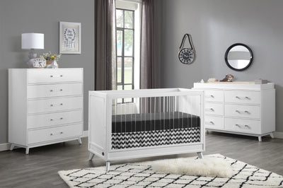 Oxford Baby Holland Collection - Static Crib  3PC Nursery Set