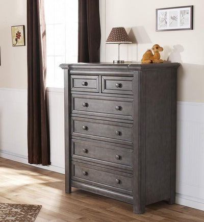 Pali Cristallo Five Drawer Dresser