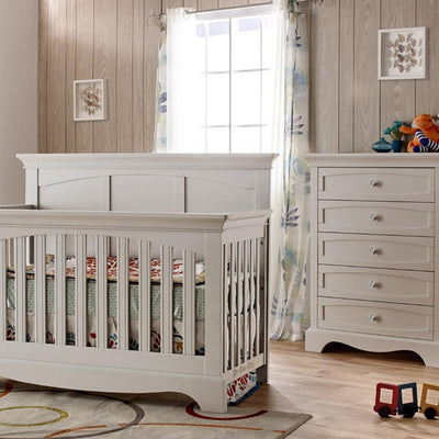 Pali Furniure Stone Pali Ragusa 2 Piece Nursery Set - Crib and 5 Drawer Dresser New York New Jersey Staten Island