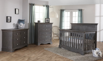 Pali Furniure 3 Piece Nursery Set Distressed Granite Pali Ragusa 3 Piece Nursery Set New York New Jersey Staten Island