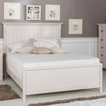 Silva Edison Full Size Bed With Low Footboard
