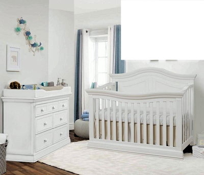 Sorelle 2 Piece Furniture Sets White Sorelle Providence - Crib, Double Dresser New York New Jersey Staten Island