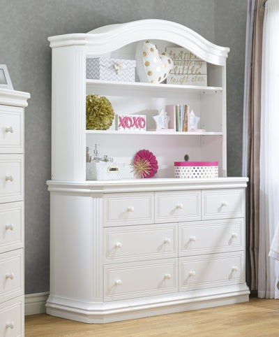 Avanti Collection White Hutch