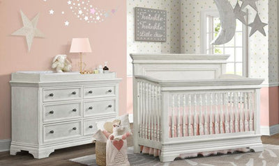 Westwood Olivia Collection 2 Piece Nursery Set Crib and Double Dresser