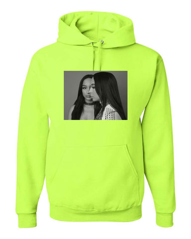 Lime Innocent Savages Hoodie.