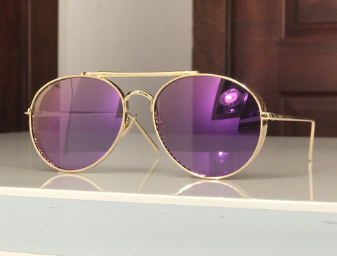 Purple rain glasses