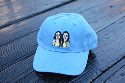 SiAngie Twins dad hat (Baby blue)