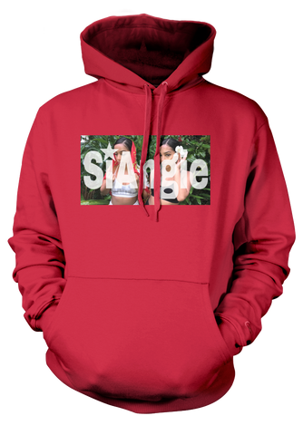 Red SiAngie Hoodie.