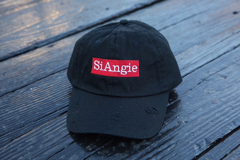 SiAngie dad hat (black)