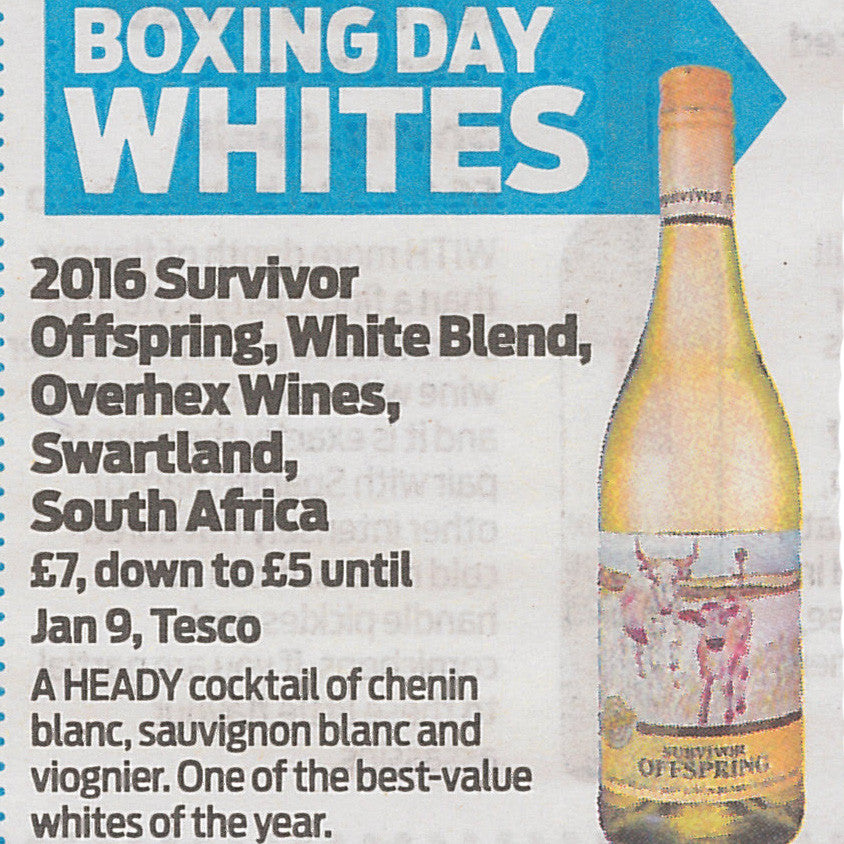 Best Boxing Day and New Year's Eve Wines | Daily Mail