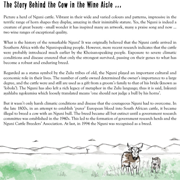 The Story Behind the Cow in the Wine Aisle ...