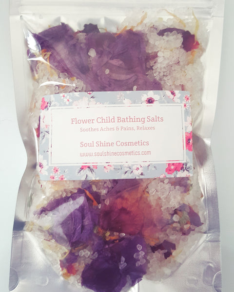 Flower Child Bathing Salts