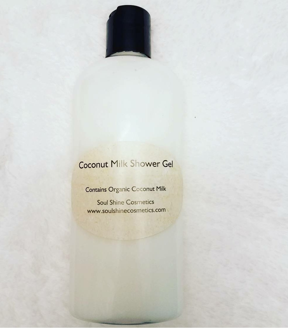 Coconut Milk Shower Gel