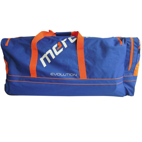 Mercian Evolution GK Kit bag Blue Orange field hockey