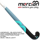 Mercian Genesis 0.1 Mint Black 20 carbon