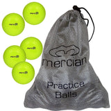 Mercian Field Hockey Dimpled Balls Game and practice quality yellow