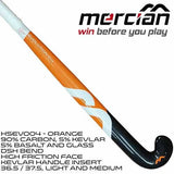 Mercian Evolution 0.4 DSH Field Hockey Stick Orange Rear