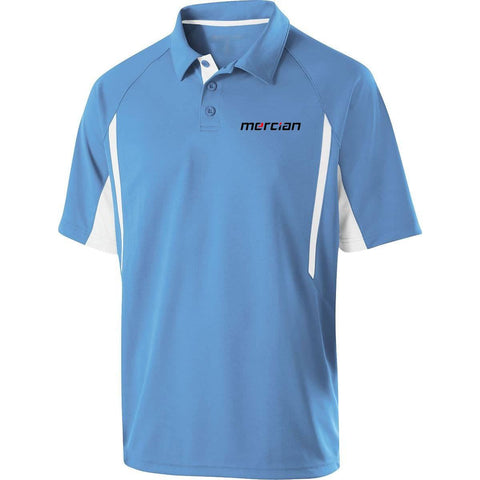 Mercian Field Hockey Polo Shirt Blue