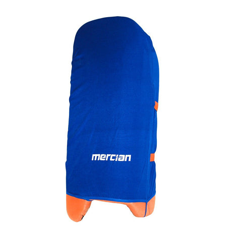 Mercian Blue Indoor Legguard Covers Senior