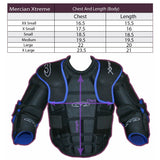 Mercian Body Armor Chest Size guide