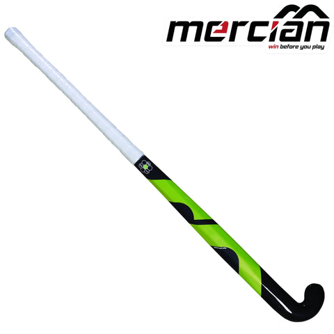 Mercian Evolution 0.6 HEX bend field hockey stick green