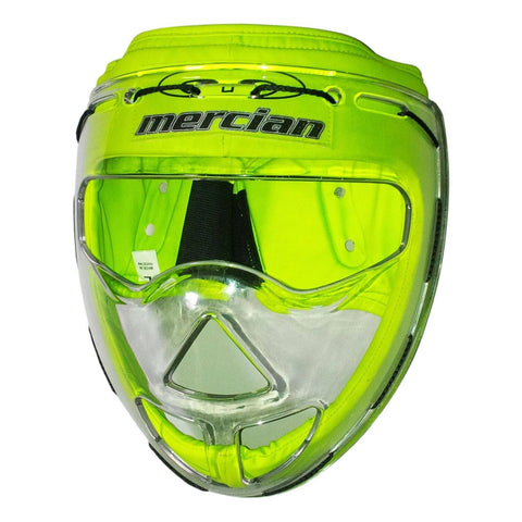 Mercian M-tek face mask green corner mask