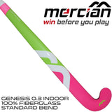 Mercian genesis 0.3 indoor pink rear
