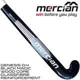 Mercian Genesis 0.4 black magic stick rear