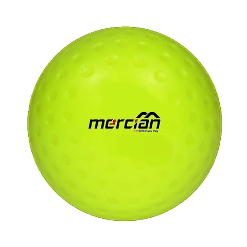 Mercian HB19 field hockey match balls yellow dimple