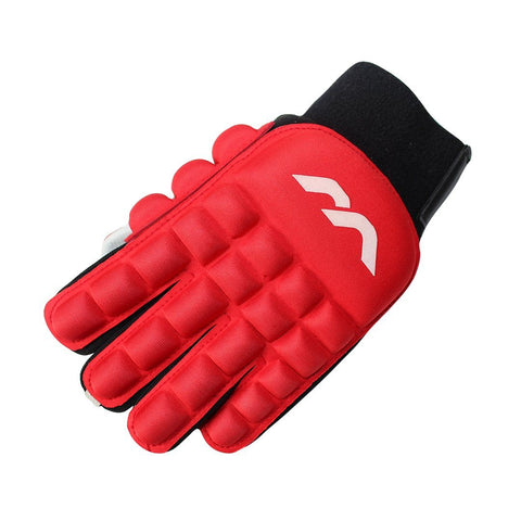 Mercian Evo 0.3 Indoor Field Hockey Glove Red Rear