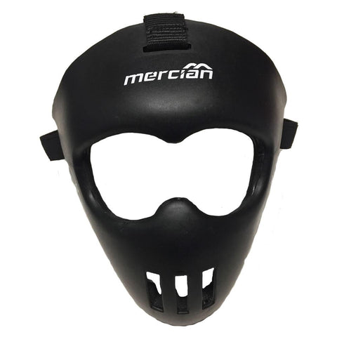 Mercian Junior Indoor Field Hockey Face Mask Black