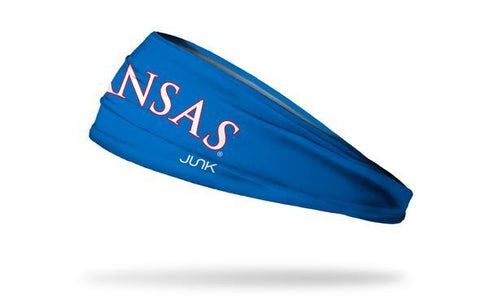University of Kansas: Wordmark Royal Headband