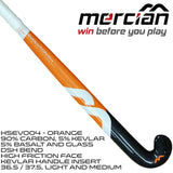Mercian Evolution 0.4 DSH field hockey stick concave Rear