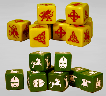 SAGA Dice - Welsh & Anglo
