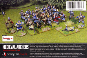 Conquest Games - Medieval Archers (Plastic)