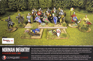 Conquest Games - Norman Infantry (Plastic)