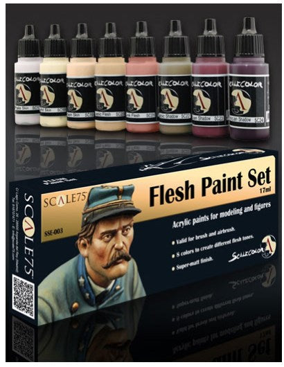 Scale75 - Flesh Paint Set