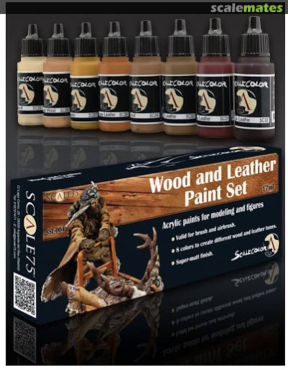 Scale75 - Wood and Leather Paint Set