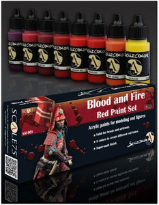 Scale75 - Blood and Fire (Red paint Set)
