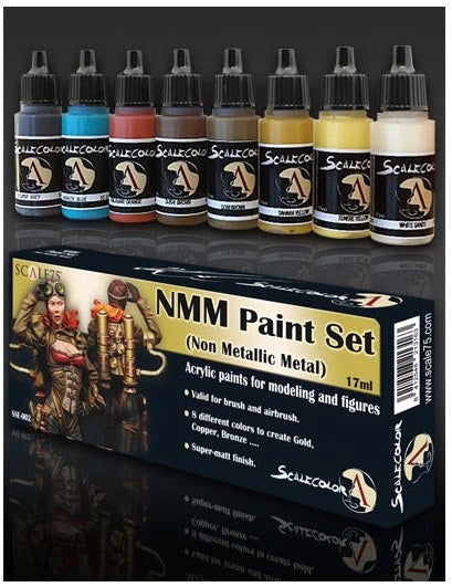Scale75 - NMM Paint Set (GOLD AND COPPER)
