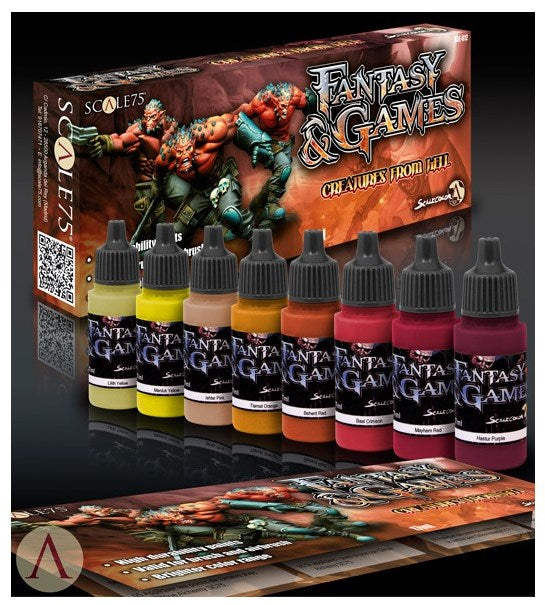 Scale75 - Unnatural Flesh paint set