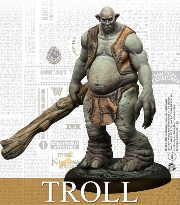 Harry Potter Miniature 35 mm Adventure Pack Troll