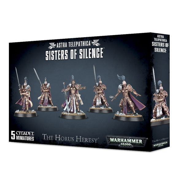 Warhammer 40K: ASTRA TELEPATHICA SISTERS OF SILENCE