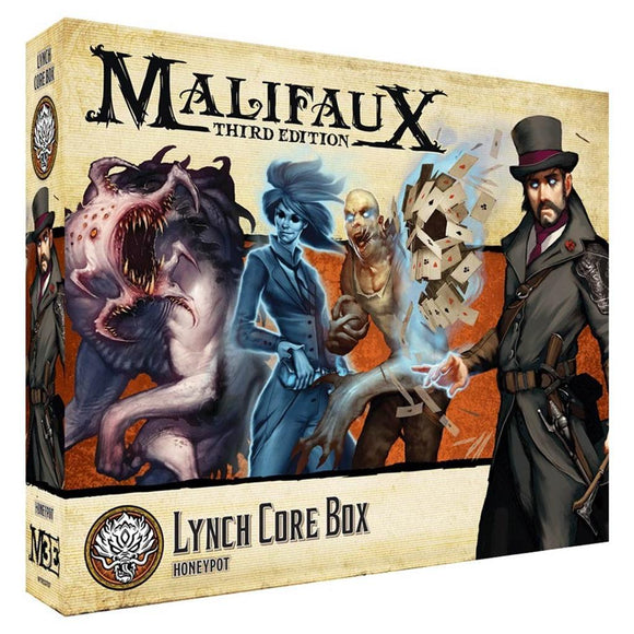 Malifaux 3E 10T: Jakob Lynch Core Box