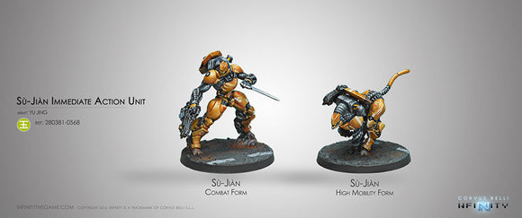 Yu Jing: Sù-Jiàn Immediate Action Unit