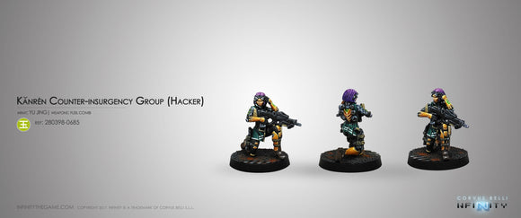 Yu Jing: Kanren Counter-insurgency Group (Hacker)
