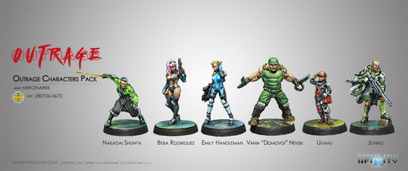 Mercenaries: Outrage Characters Pack