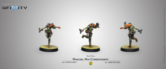 Mercenaries: Warcors, War Correspondents (Stun Pistol)